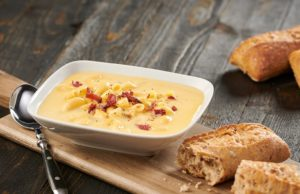 Bacon Mac & Cheese Soup Recipe