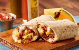 Chorizo Queso Burrito Recipe