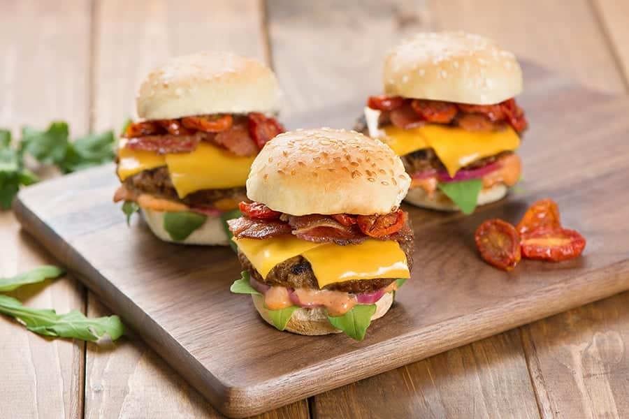 Imitation Cheese Burger Sliders