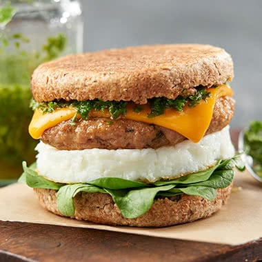 Chimichurri Breakfast Sandwich