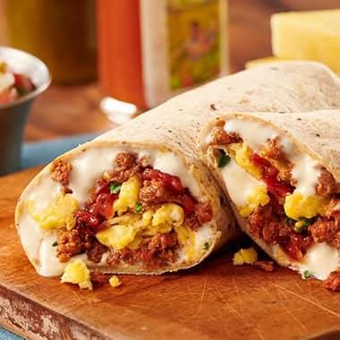 Chorizo Queso Burrito