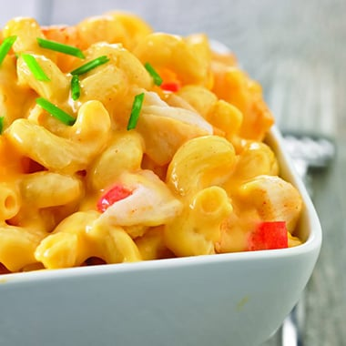 Seafood Mac 'N' Cheese
