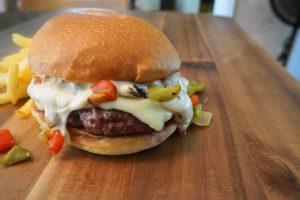 Philly Cheesesteak Burger Recipe