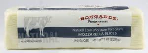 Mozzarella Cheese Slices